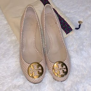 Tory Burch wedge style heels pumps size 8